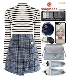 """Snapmade (10)"" by itsybitsy62 ❤ liked on Polyvore featuring Chicwish, Madewell, NARS Cosmetics, Chloé and Chiara Ferragni"