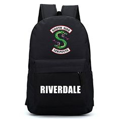 New OOHPA 2018 For Riverdale Fans Backpack Harajuku American TV Backpack  Idol Funny mochila Teenager Canvas School season New Bag (black) online  shopping a82a55d6137fd