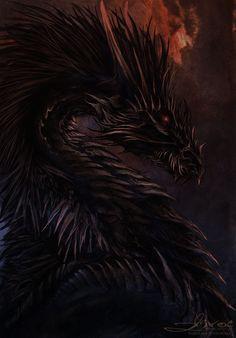 Dark Dragon by Isvoc on DeviantArt