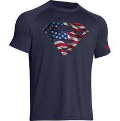 Under Armour Men s Alter Ego United States of America Superman Graphic T- Shirt 3ee975a96