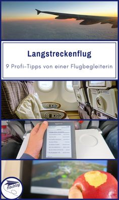 Langstreckenflug: 9 Profi-Tipps von einer Flugbegleiterin Whether long-distance travel or world tour: you can hardly get past a long-haul flight. Here are 9 professional tips from a flight attendant to master a long flight. Honeymoon Tips, Romantic Honeymoon, Backpacking Europe, Europe Travel Tips, Travel Hacks, York Hotels, Gear Best, Long Flights, Road Trip Hacks