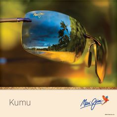 Meet Kumu, a modernized rimless style that's light as a feather and ready for your next adventure. #MauiJim