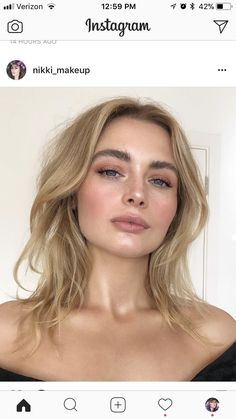 Best Natural Makeup Looks of All Time Best Natural Makeup, Natural Hair Styles, Natural Makeup For Blondes, Natural Summer Makeup, Makeup For Fair Skin, No Make Up Makeup, Fresh Makeup Look, Natural Beauty, Maquillaje Glowy