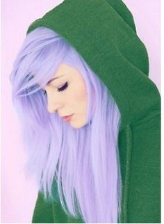 When I'm older i want to die my hair this color<3