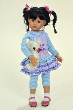 Ласковое солнышко Фелипа от Heidi Plusczok / Коллекционные куклы (винил) / Шопик. Продать купить куклу / Бэйбики. Куклы фото. Одежда для кукол