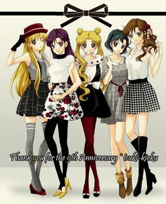 Sailor Moon Sailor Mercury Sailor Mars