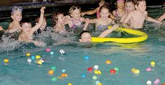 Eggs in the pool - NUJournal.com | News, Sports, Jobs - The Journal, New Ulm, MN Maybe adapt to fishing for eggs idea....