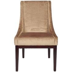 Found it at Wayfair - Dark Velvet Wing Chair