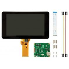 "Raspberry Pi 7"" Touch Screen Display on sale in Australia at JiffyShop.com.au"