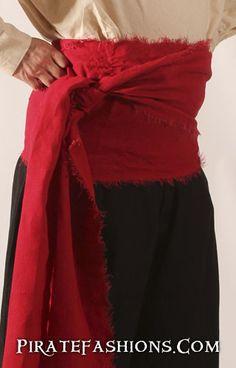 Pirate Sash N Buccaneer Sashes – Pirate Fashions