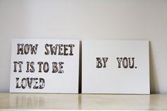how sweet it is!