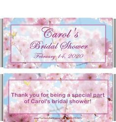 CUSTOM for you your colors 50 Wedding Candy Wrappers Blue Bridal Shower Candy Wrappers theme fit over 1.55 oz chocolate bars