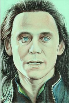 Tom Hiddleston as Loki Portrait by Victor M. Martinez, colored pencil 28x22 cms — If you're interested on my work, please, visit my web site: http://www.victormm.260mb.net — #tomhiddleston #loki #avengers #thor #marvel #marvelart #scifiart #art #drawing #artist #sketch #illustration #portrait #painting #artwork #draw #creative #face #pencil #fineart #socialmedia #oilpainting #painter #visualart #venezuela #carabobo #valencia
