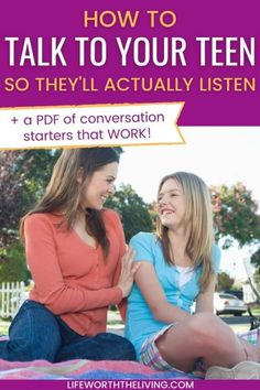 This is a pinterest pin for the blog post How to talk to your teen so they listen Sibling Relationships, Communication Relationship, Raising Teenagers, Math Work, Strong Family, Family Therapy, Pinterest Pin, Conversation Starters, Love And Respect