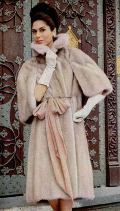 1965 style - fur coat