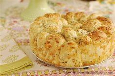 Cheesy Garlic Bread with frozen bread dough