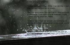 Love Rain Quote