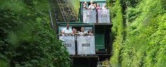 Lynton & Lynmouth Cliff Railway. Devon's unique Tourist Attraction A unique Victorian Water Powered Lift, giving access to spectacular cliff top walks. The Cliff Railway joins the village of Lynton to its sister village of Lynmouth, 900ft below.