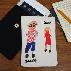 I've just found iPad /Kindle Case With Your Child's Drawing. Personalise an iPad / Kindle tablet case with your child's drawing to create a unique and magical gift.. £26.00