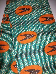 African fabric per yard bird print fabric/ Wax print fabric/ African prints/ Ankara fabrics/ Clothing/ Decor