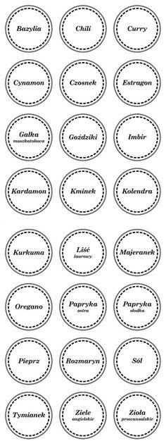 etykiety na zioła - Szukaj w Google