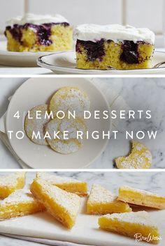 4 Lemon Desserts to Make Right This Second via @PureWow