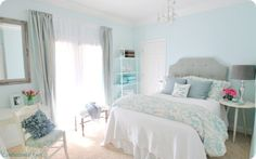 Remodelaholic | 30+ Bedrooms for Teen Girls