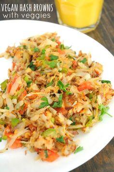 hash-browns-with-veggies (Vegan)
