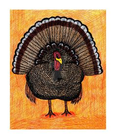 Aww I got featured for the first time on #deviantart! Tough Turkey by blakcirclegirl