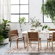 Dining room inspo - Barnaby lane dining chairs transform this space.