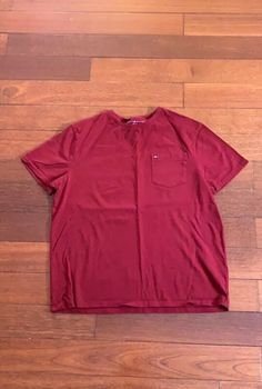 Tommy Hilfiger Maroon T-Shirt Size Medium Great Condition #tshirts (ebay link)