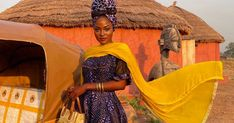 Style Influencer Hamamat Condemns Chinese Police Taking Command In Zambia African Dresses Men, African Wear, African Fashion, Fashion Shoot, Fashion News, Fashion Models, African Models, Two Piece Swimwear, African Countries