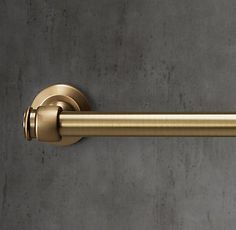 RH's Lugarno Towel Bar:Lugarno is reminiscent of fixtures in Europe's premier hotels.