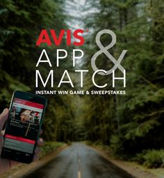 Play and you could win a free car rental in the Avis App & Match Game! Check it out now. Promotion ends 6/30/17.