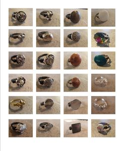 Wire Wrapped Rings pick ANY 3 for 20 Dollars by OriginalStiles, $20.00