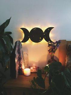 Spiritual Witch Bedroom Decor