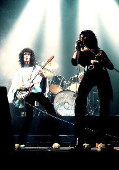 Freddie and Brian – Rainbow 1974