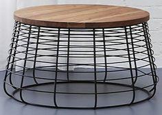 "Coffee table; $369, 26"" Diameter – top, 30"" Diameter - base; 16.25""H"
