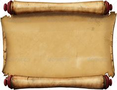 Old Blank Scroll Graphicriver Graphics Illustrations Objects