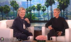 Hillary Jokes With Ellen About When She's In White House — SHE THINKS IT'S OVER!  Jim Hoft Oct 14th, 2016