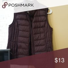 Lightweight Weatherproof Vest EUC I never wear it much! My loss is your gain! Great for fall! Jackets & Coats Vests