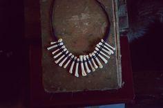 Raccoon Foot Bone Necklace. $50.00, via Etsy.
