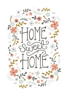 Home Sweet Home by Kristen Smith for Minted
