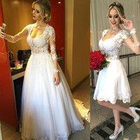 Wholesale Wedding Dresses Detachable Skirt - Buy Cheap Wedding Dresses Detachable Skirt from Best Wedding Dresses Detachable Skirt Wholesalers | DHgate.com