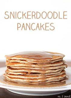 Do you like snicker doodle cookies? Do you like pancakes? Then this recipe is for you.   This is a perfect breakfast idea that can be made on the stovetop in your suite.
