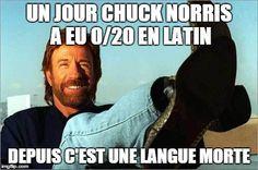 Top 21 des meilleures blagues sur Chuck Norris