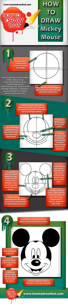 How To Draw Mickey Mouse | HOW TO DRAW THAT