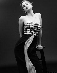 Jennifer Lawrence by Daniel Jackson