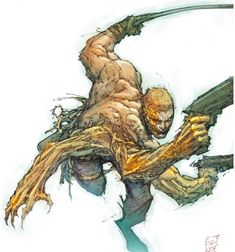 Top 100 comic and manga characters! Comic Book Artists, Comic Artist, Comic Books Art, The Darkness, Alien Character, Comic Character, Character Design, Wolverine, Palm Beach