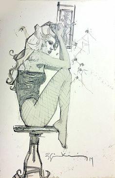 Black Canary by Bill Sienkiewicz
